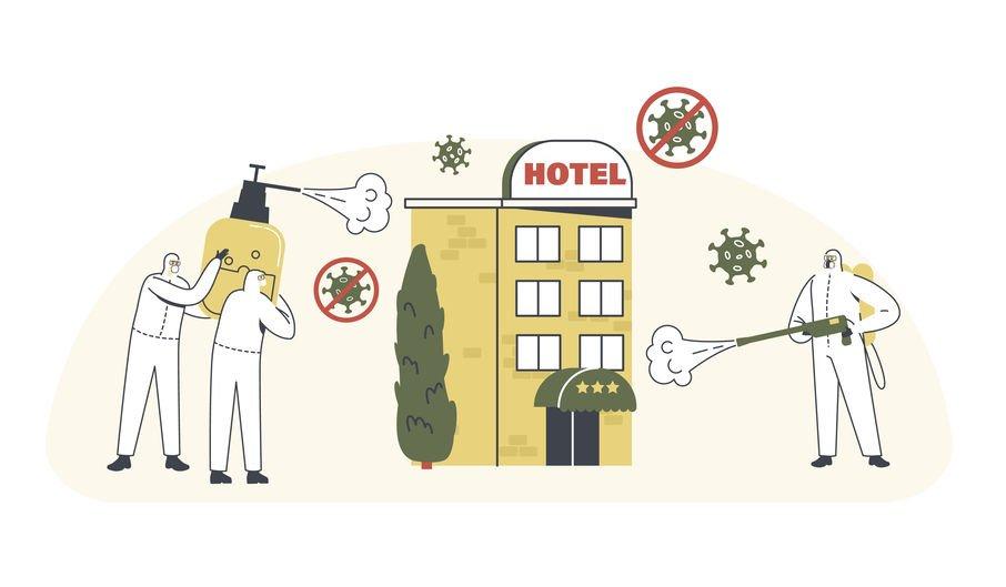 Hotel sanificazione